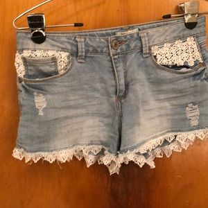 MUDD girls Jean shorts